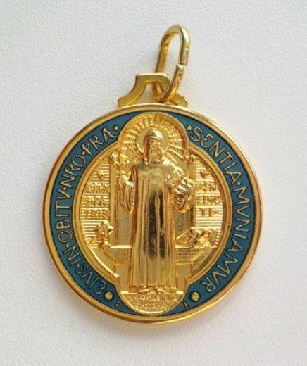 Benediktus-Medaille - 16mm Durchmesser